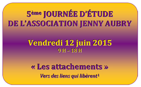 Jenny Aubry - les attachements 2015