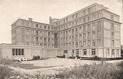 Facade Nord - Photo Yvon - années 30