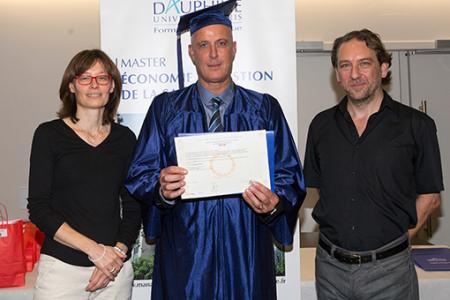 Remise des diplômes 3e promotion Master MSSEPA 2018