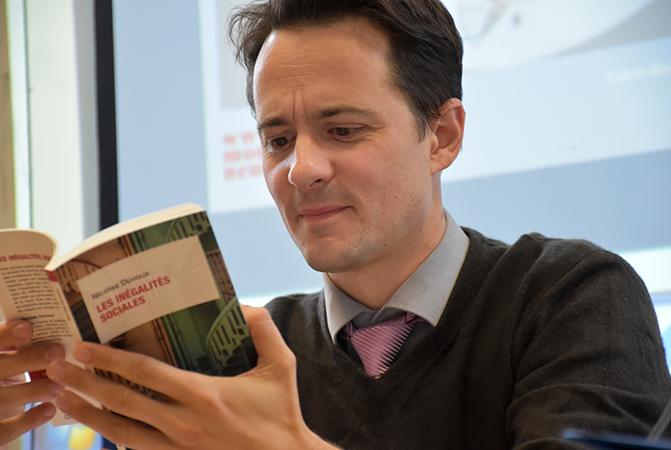 Clément Bosqué, directeur IRTS - site de Montrouge
