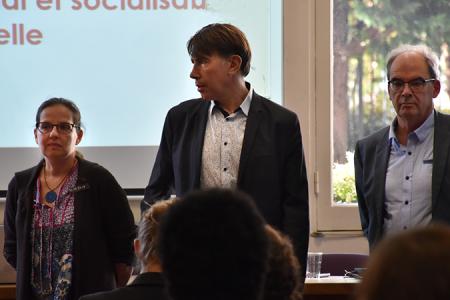 Marie-Pascale Million, Philippe Lyet & John Ward - PREFAS-GRIF-2018