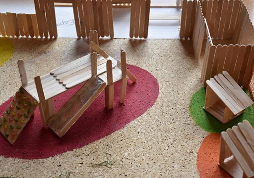 Exposition maquettes EJE IRTS Portes ouvertes 2019