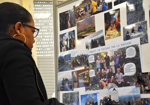 Projet Joelette étudiants IRTS Portes ouvertes 2019