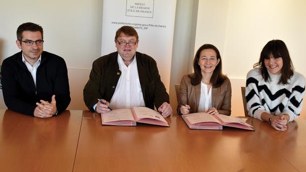 La DRIHL IF et l'IIRTS Ile-de-France Montrouge Neuilly-sur-Marne s'associent en 2020 pour la formation des travailleurs sociaux et la promotion des politiques de l'hébergement et du logement.